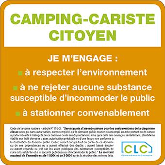 Camping-car Citoyen, adhésif 2019